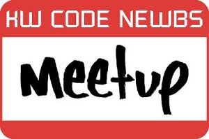 KW Code Newbs Meet-up Kitchener / Waterloo Kitchener Area image 1