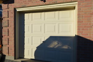 garage door and opener