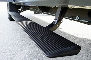 AMP Reasearch power running boards, with chrome trim and lights
