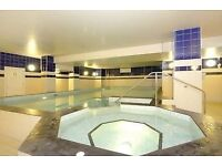 Double room with private bathroom, gym and swimming pool