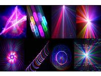 KAM HYPER 3D 500 LASER 8 IN 1 EFFECT LASER LIGHTSHOWS