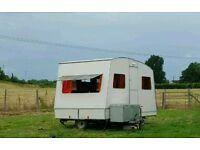 Retro Folding Caravan