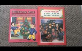 2 x Fireman Sam Books