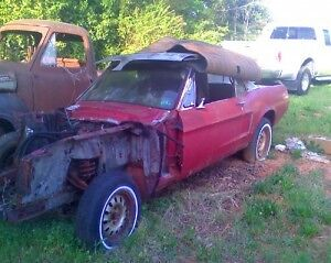 WANTED-1968 Mustang Convertible for a project