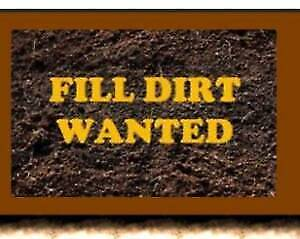 DIRT, FILL, GRAVELS WANTED - FREE