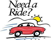 Ride share service Sudbury and surrounding area