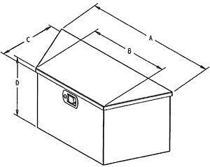 TRAILER ALUMINUM A-FRAME / TONGUE BOX - CLENTEC London Ontario image 2