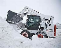 Bobcat services and snow removal