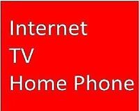 BEST DEAL OF TOWN: UNLIMITED INTERNET, TV CABLE HOMEPHONE