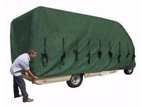 pro-tec camper van cover could use on caravan not used much very big