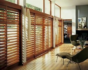 CALIFORNIA SHUTTERS - WOOD & VINYL