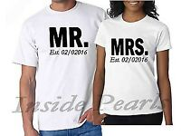 HIS AND HERS T-SHIRT PRINTING