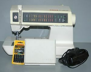 Only $200 for $1700 Sewing Machine 30 Stitch Memory c/w Button