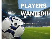 Football Players Wanted. STARTS NEXT WEEK. Any ability, any age to play up to 2 weeknights per week.