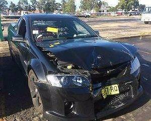 HOLDEN COMMODORE VE UTE FOR WRECKING VE UTE PARTS LLT ENGINE AUTO