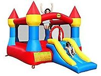 12 x 9ft Turret Kids Bouncy Castle complete w/ Airflow Fan by Duplay