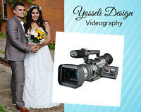 50% OFF WEDDING VIDEOGRAPHY PACKAGE $600