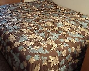 Queen Mattress and Boxspring - good condition.