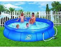 Piscine gonflable 12 pieds HydroForce