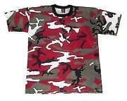 Mens Camouflage Shirt