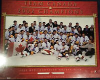Team Canada 2002 Olympic Plaque