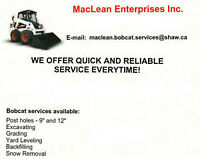 POST HOLE DRILLING SERVICES - EMAIL TODAY FOR QUOTE!