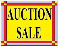 AUCTION SALE AT ST THOMAS FEB.22