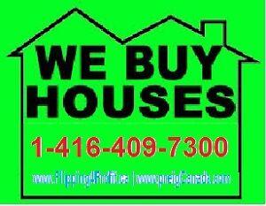 We buy houses in St. Catharines