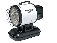 New Tiger King Industrial Diesel/Kerosene Portable Radiant Infrared Blow Heater