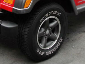 Jeep TJ - Columbia Rims