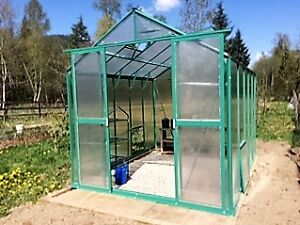 Brand New Aluminum Polycarbonate Greenhouses Downtown-West End Greater Vancouver Area image 2