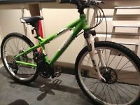 Childs carrea blast mountain bike