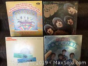 Beatles Record LP Lot of 4 Different
