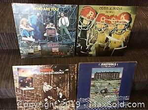 The WHO Record Lp Lot of 4 Different
