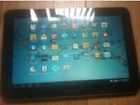 2 x tablets samsung 8inch & asus win 8 10,1