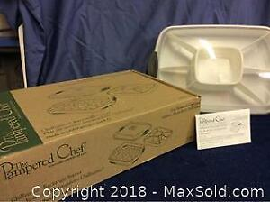 Pampered Chef CHILLZANNE Rectangle Server A