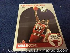 Michael Jordan 1990 Chicago Bulls Basketball Card