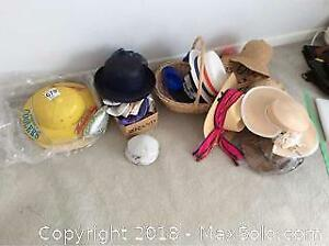 Hats And Wig- B