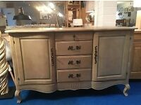 French Provincial Chic Style Large Sideboard rrp£699