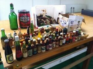 Minature bottle collection and keg Parafield Gardens Salisbury Area Preview