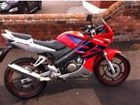 Honda CBR 125 for sale. Great condition.
