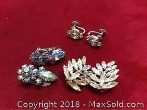 Sherman Earring Collection 3 Pair