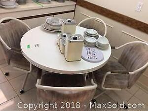 Kitchen Table And Chairs And More - C