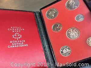 1971 Canada Silver Double Dollar Mint Coin Set