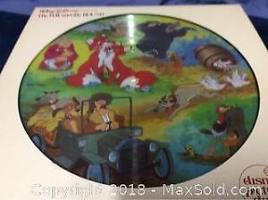 Walt Disney Fox And The Hound Picture Disc Lp Record