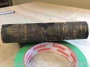 1872 Bible Approximately Three By Five