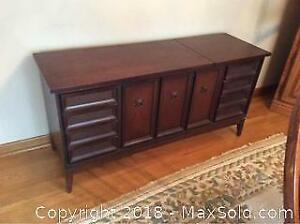 Vintage Stereo Cabinet-B