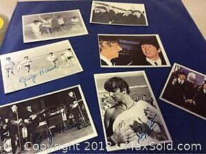 1964 Beatles Trading Card Lot Of 7