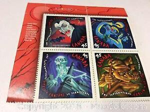 Canada Supernatural Stamp Set Mint