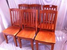 Set of 6 Dining Chairs #225 North Geelong Geelong City Preview